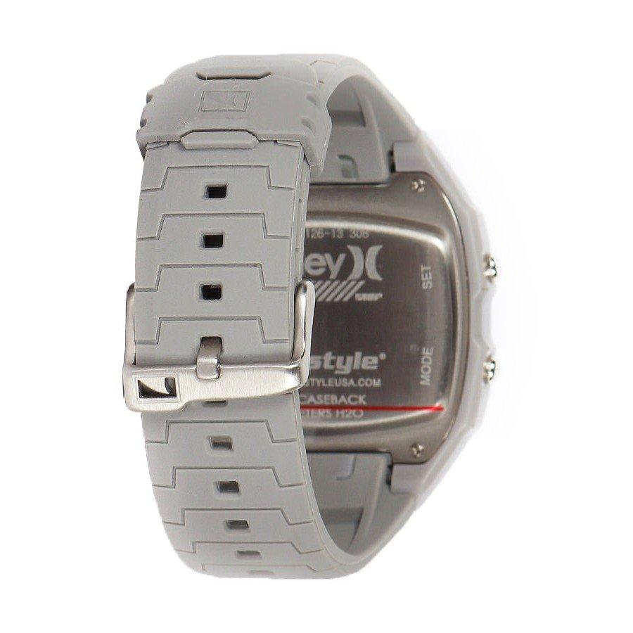 35c9e0807a2 Relógio Killer Shark Digital Tide Hurley Cinza - Rock City