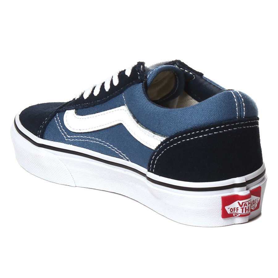 946288e5b8 Tenis Vans Old Skool Juvenil Azul Marinho - Rock City