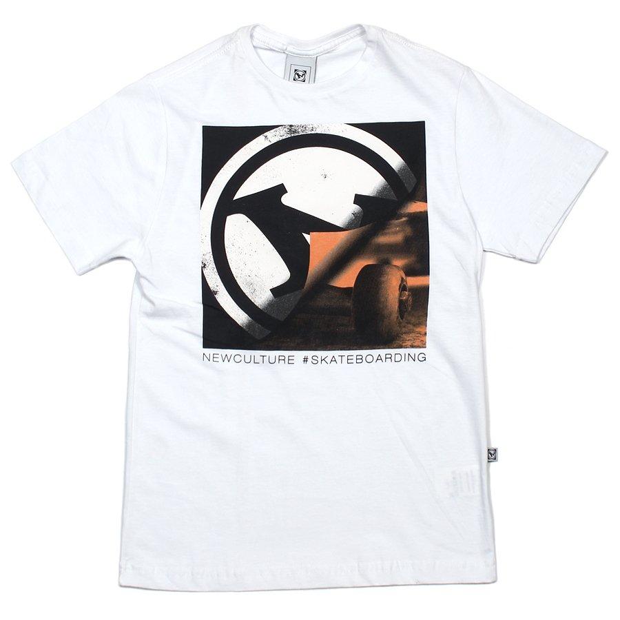 Camiseta New Skate Loco Infantil Branco - Rock City a7f0bfa5eed