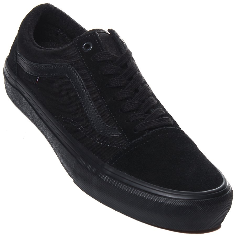 6f41bf1f582 Tênis Vans Old Skool Pro Preto Preto - Rock City
