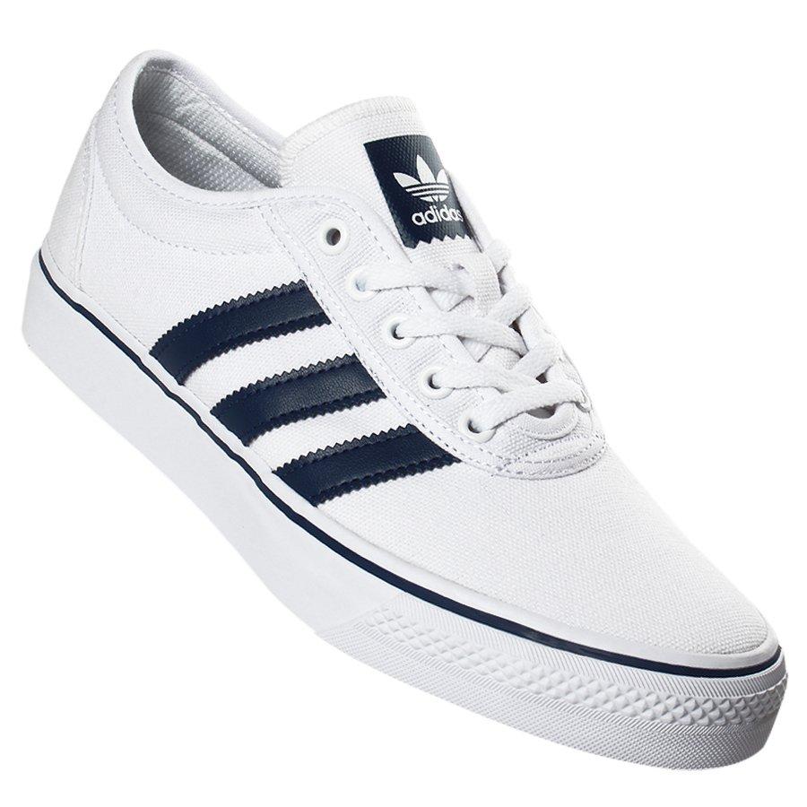94009335ce6 Tênis Adidas Adiease Branco Azul - Rock City