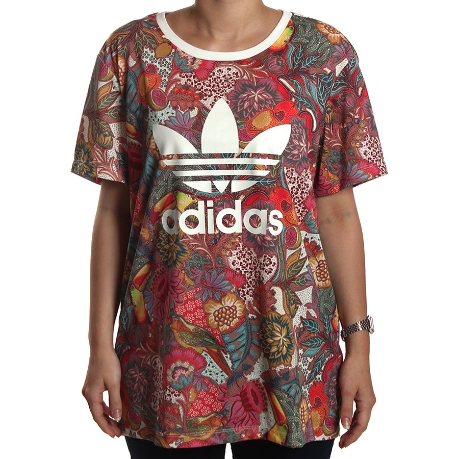 738a24bcd75 Camiseta Adidas BF Fugiprabali Colorido - Rock City