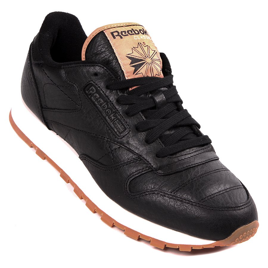 400cc13012 Tênis Reebok Classic Leather Boxing Preto - Rock City