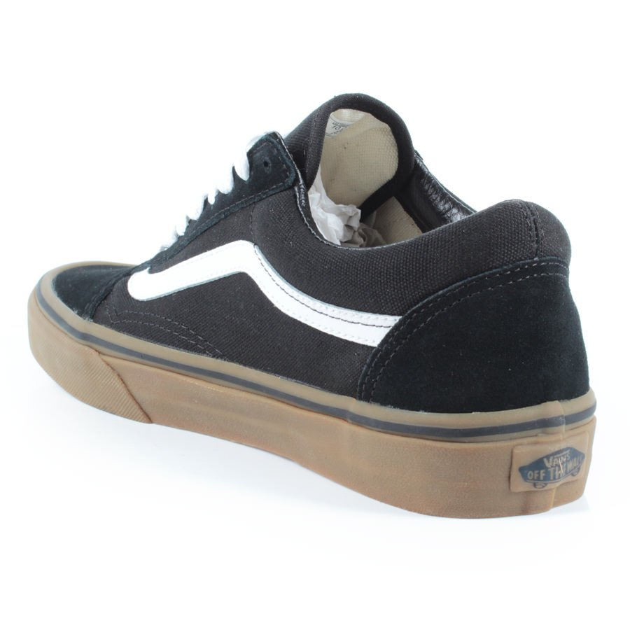 8a4c1a2ed0 Tênis Vans Old Skool Gumsole Preto Marrom - Rock City