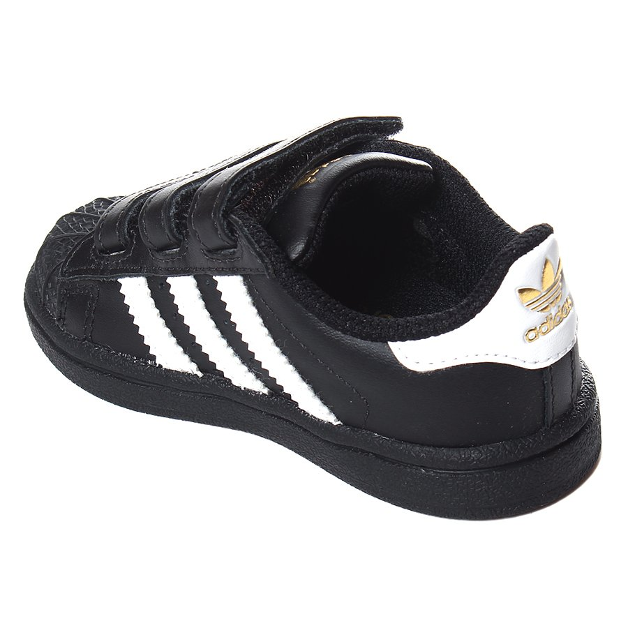 1031d89110 Tênis Adidas Superstar Infantil CF Preto Branco - Rock City