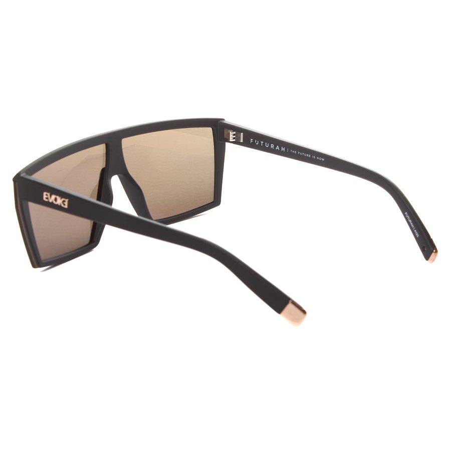 2369dae15d0a3 Óculos Evoke Futurah Matte Champagne Preto Fosco Espelhado - Rock City