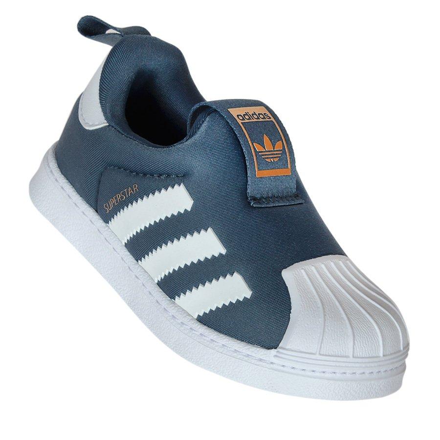 70ef7e12c Tenis Adidas Superstar 360 Inf. Azul Marinho/Branco - Rock City