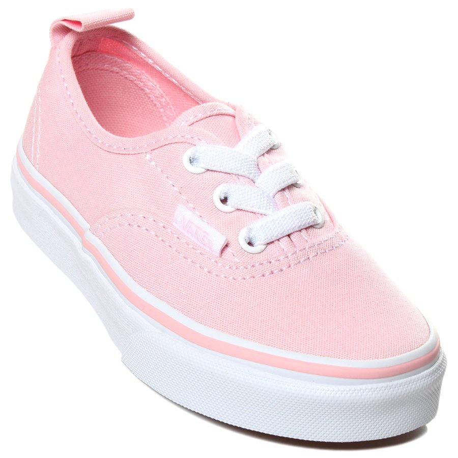 7bacdb8381d Tênis Vans Authentic Elastic Lace Juvenil Rosa Branco - Rock City