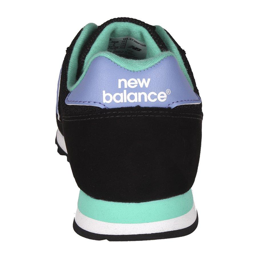 new balance preto e verde agua