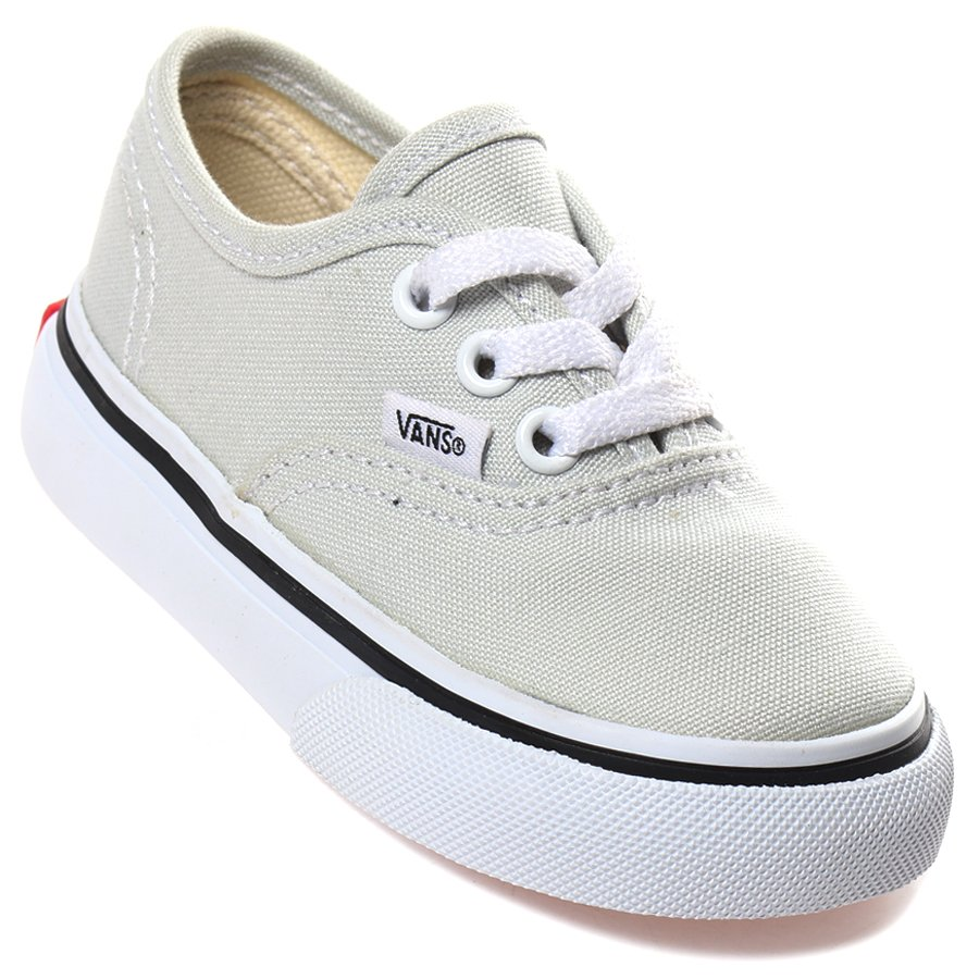d7e7f7468e7 Tênis Vans Authentic Infantil Cinza Claro - Rock City