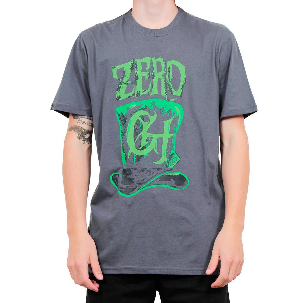 afcb731e3 Camiseta Zero Cartola Cinza - Rock City