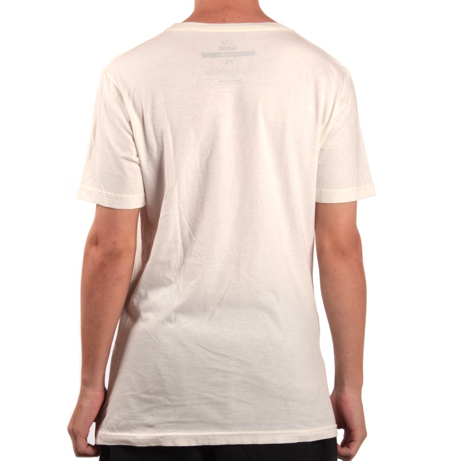 6099c55d27257 Camiseta Evoke Jim Off Bege - Rock City