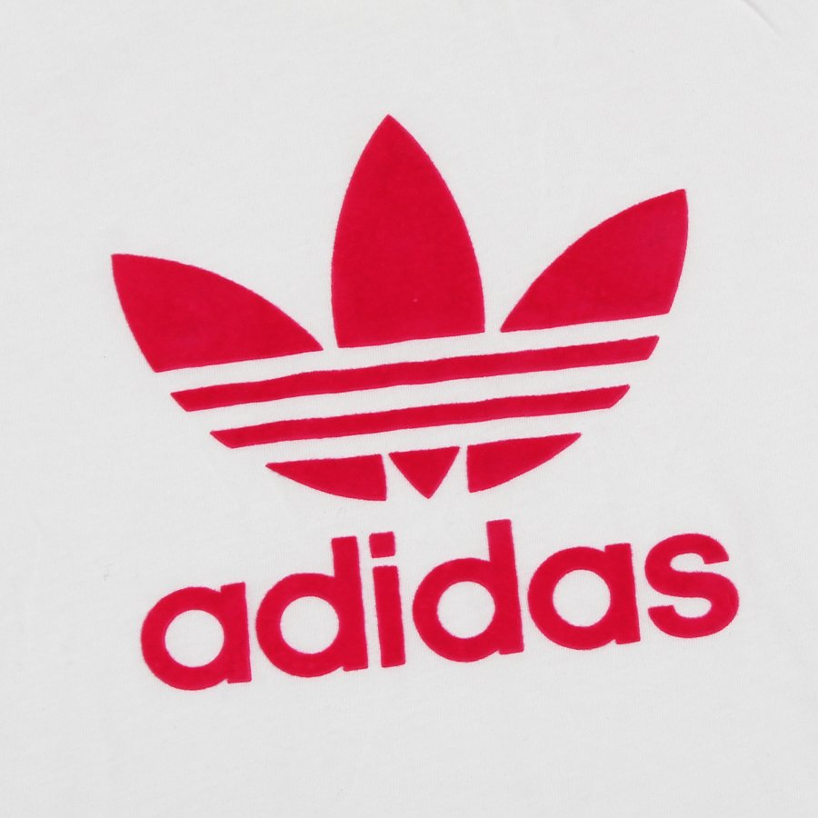 9b915d8d3 Camiseta Adidas Trefoil Infantil Branco/Rosa - Rock City