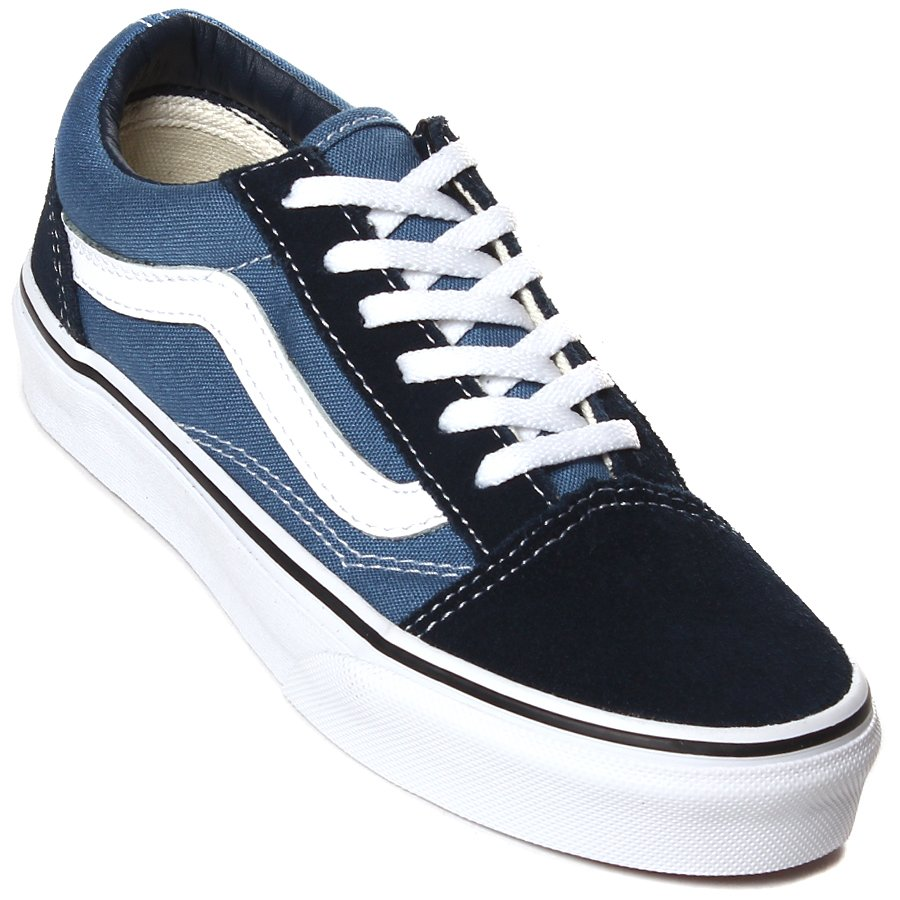 d7769897ce1 Tenis Vans Old Skool Juvenil Azul Marinho - Rock City