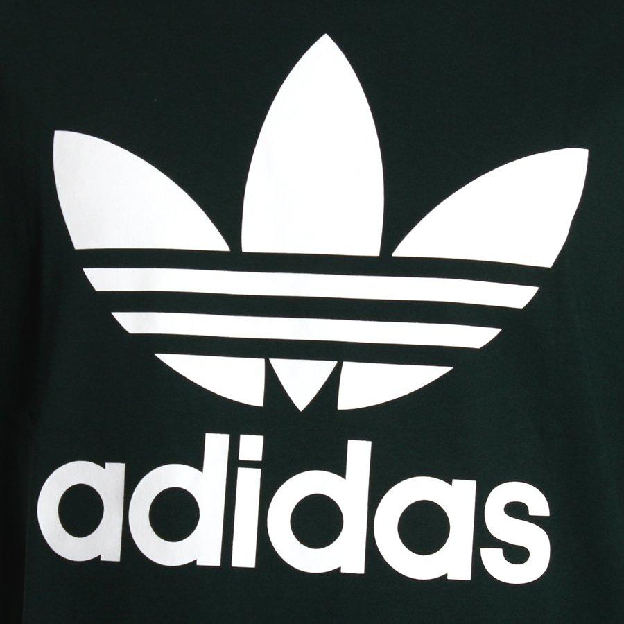 70d483dc49ed Camiseta Adidas Trefoil Original Verde Escuro - Rock City