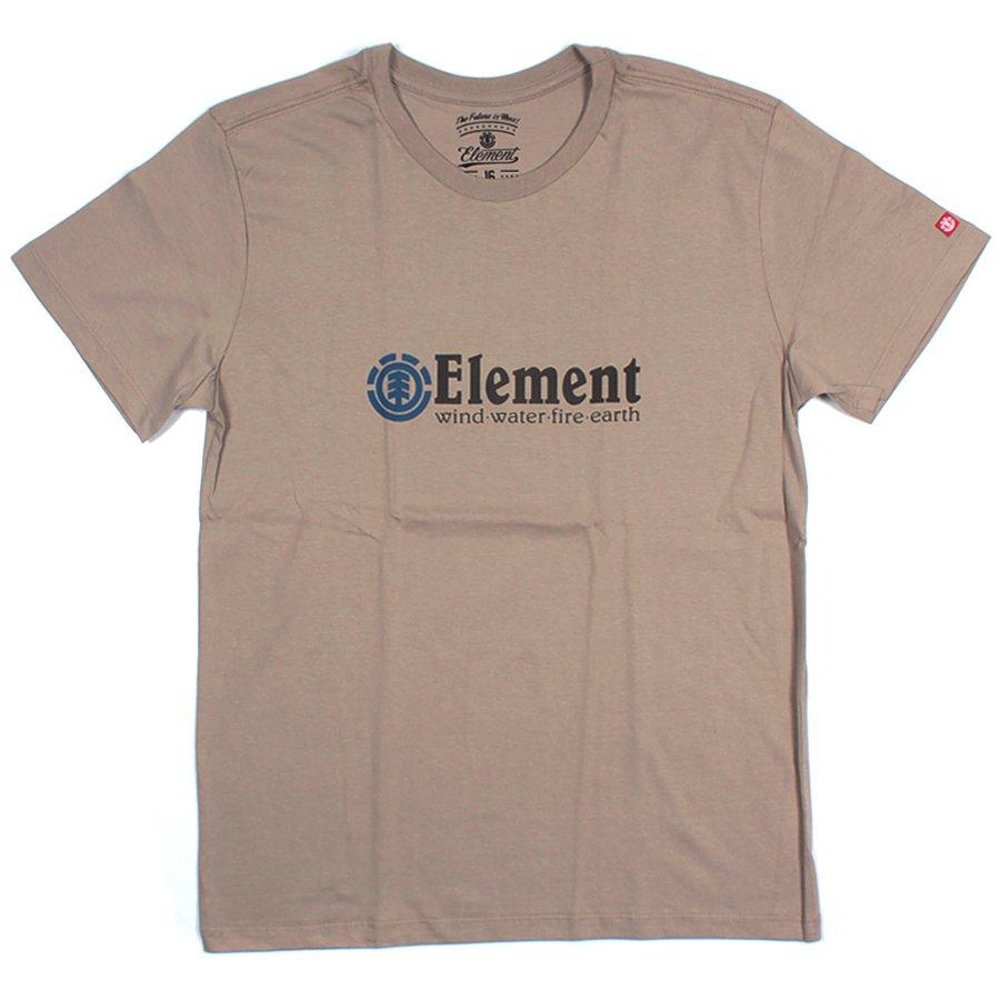 5f4bc58f5 Camiseta Element Horizontal Infantil Bege Escuro - Rock City