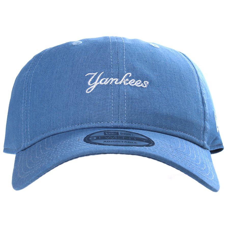 f41221c1faef1 Boné New Era New York Yankees Aba Curva Azul Claro - Rock City