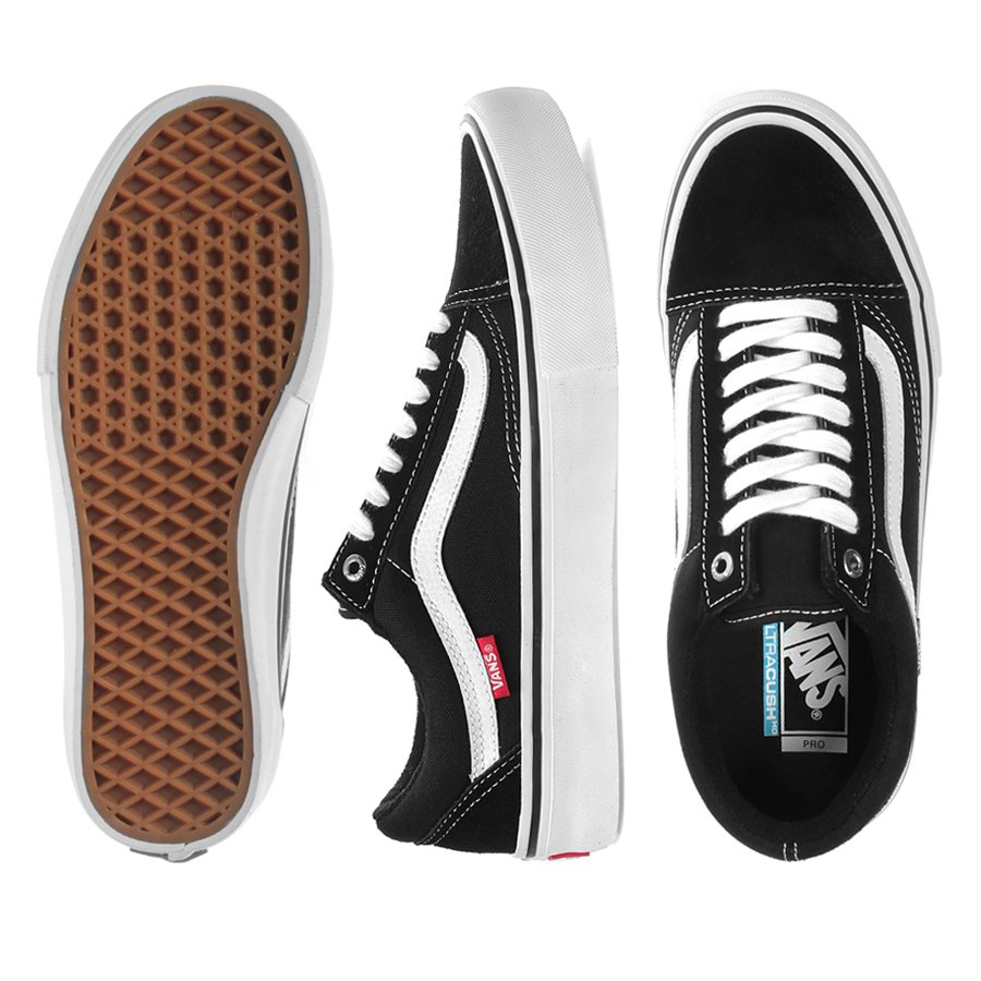 70eae00fe3 Tênis Vans Old Skool Pro Preto Branco - Rock City