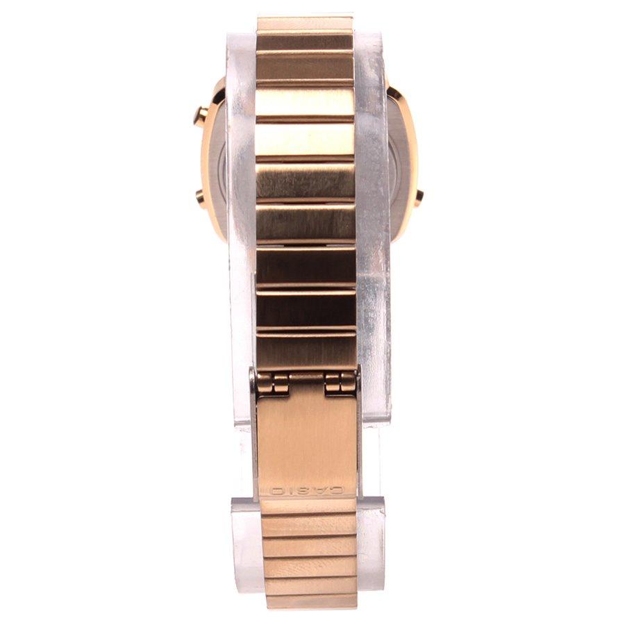 75636bbdf0c Relógio Casio Vintage LA670-WGA-9DF Dourado Prata - Rock City