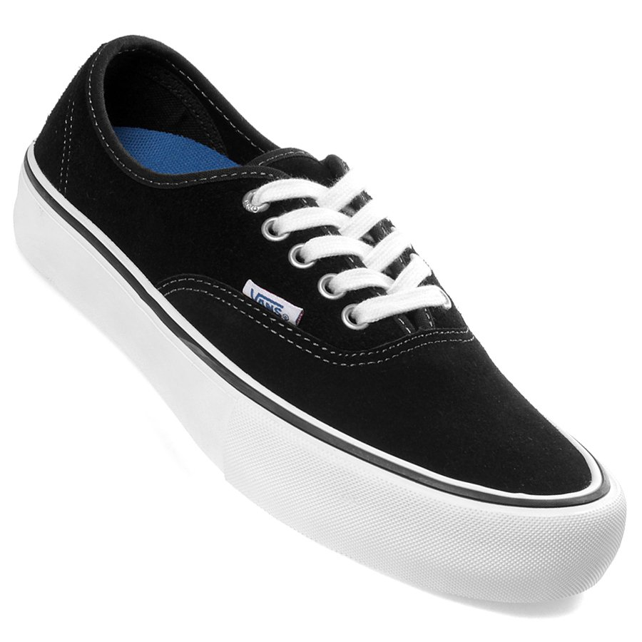 4ec4ce8211 Tênis Vans Authentic Pro Suede Preto Branco - Rock City