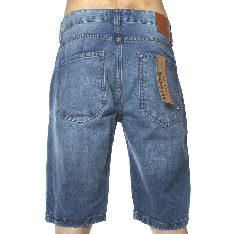 Fifty City Rock Jeans Billabong Straight Bermuda Azul qc4R35jAL