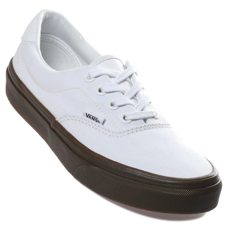 Tênis Vans Era 59 Branco Marrom - Rock City 9418e785420