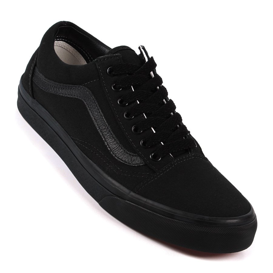eb4f9c7aee8 Tenis Vans Old Skool Preto Preto - Rock City