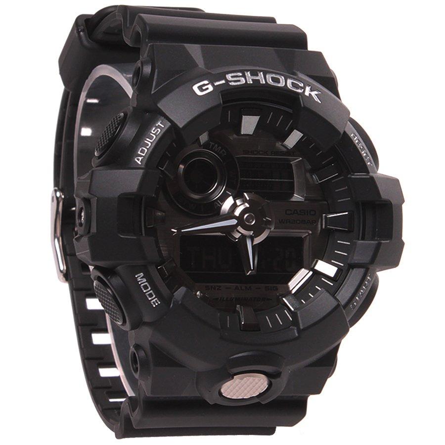 c4bc80640e2 Relógio Casio G-Shock GA-710-1ADR Preto - Rock City