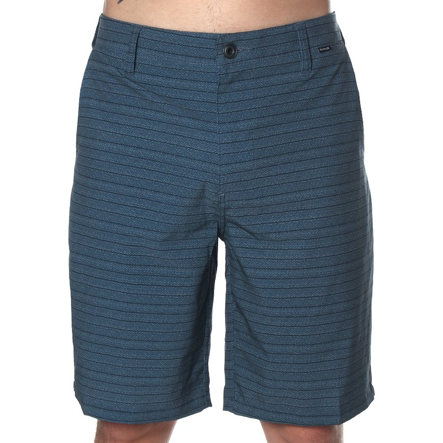 Bermuda Hurley Cos Phantom Azul Cinzento - Rock City 5177f43d1a2