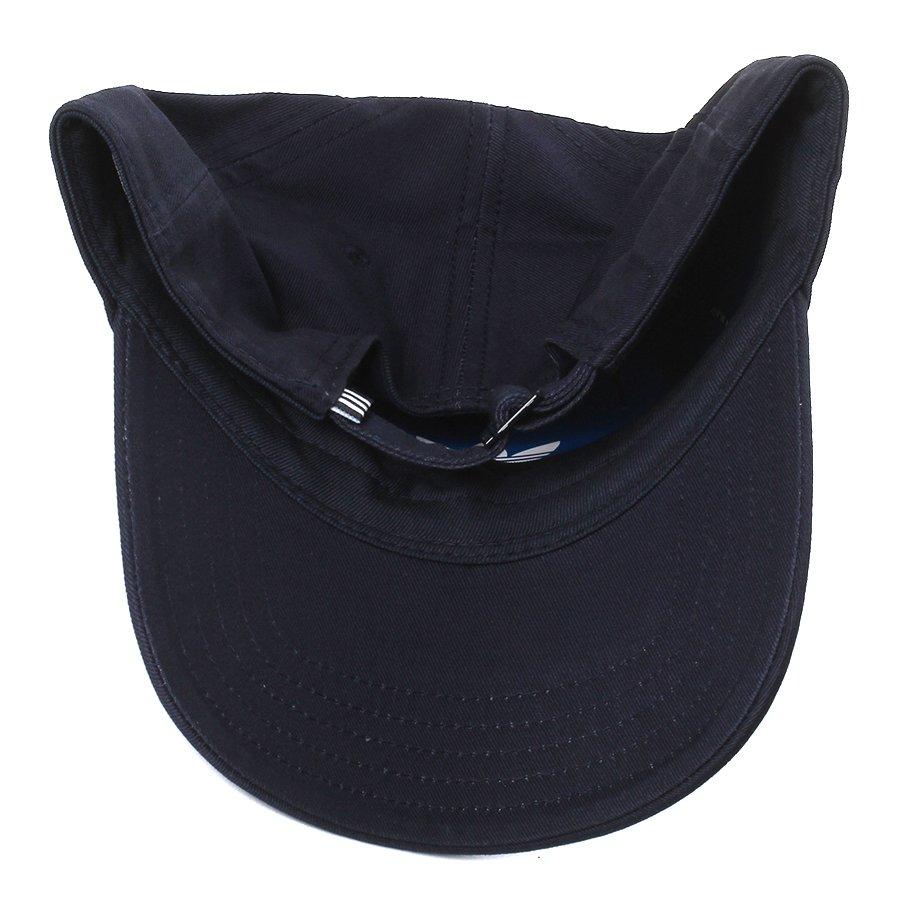 e2393c893b45c Boné Adidas Logo Trefoil Azul Marinho - Rock City