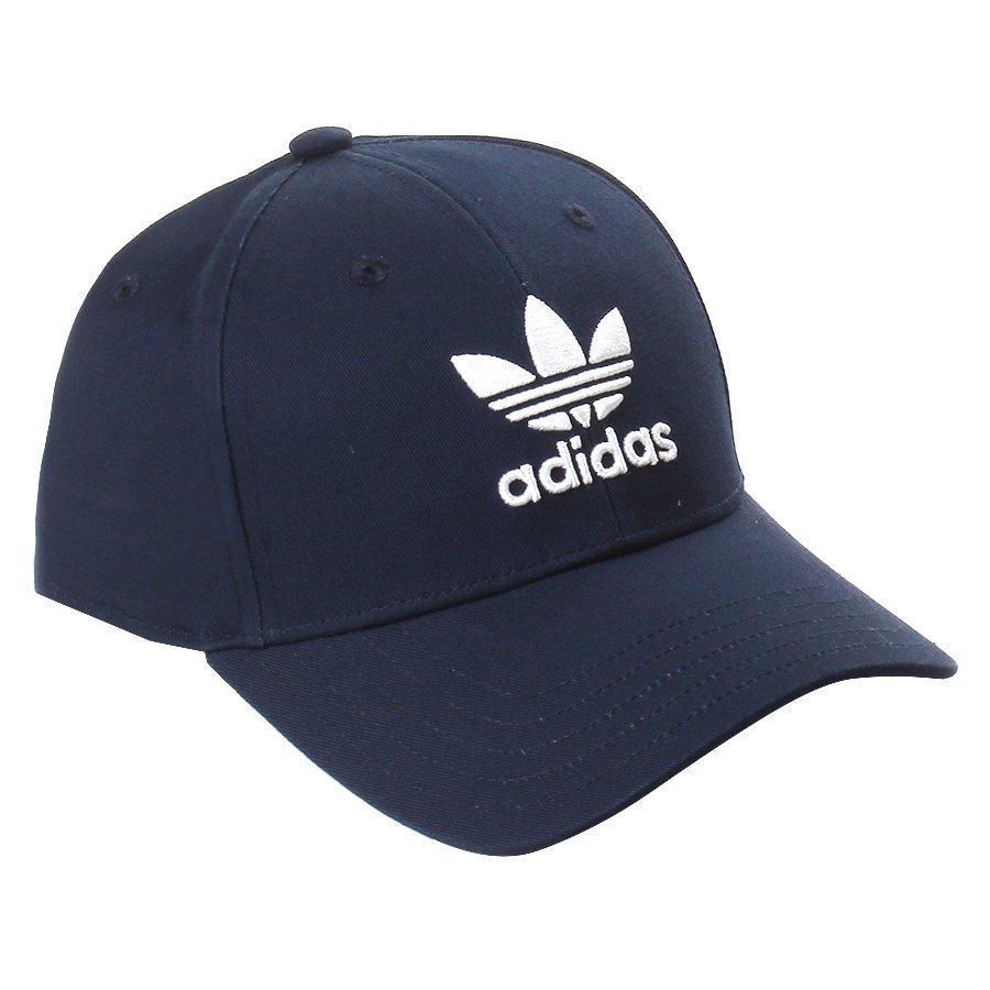 b48ffc9fe8330 Boné Adidas Logo Trefoil Baseball Classic Azul Marinho - Rock City
