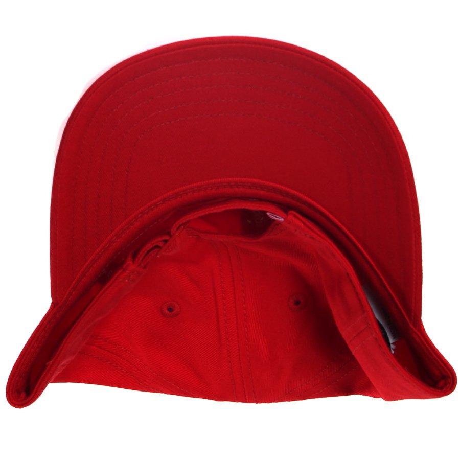 Boné Adidas Trefoil Vermelho - Rock City a1c02b136bb