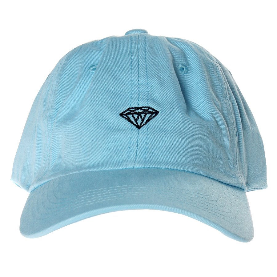 Boné Diamond Micro Brilliant Dad Hat Azul Claro - Rock City 77b195081b9