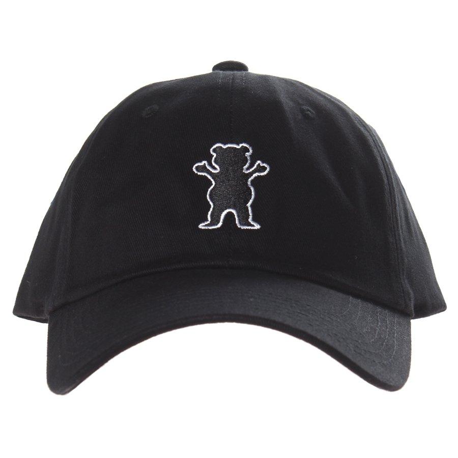 Boné Grizzly Dad Hat OG Bear Logo Preto - Rock City 9ec921cfd62a