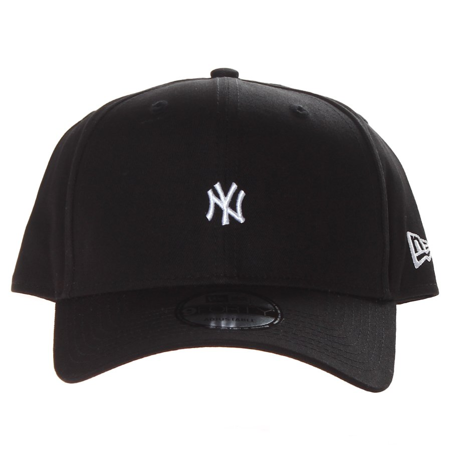 Boné New Era New York Mini Logo Aba Curva Preto - Rock City c9f1e91fcab