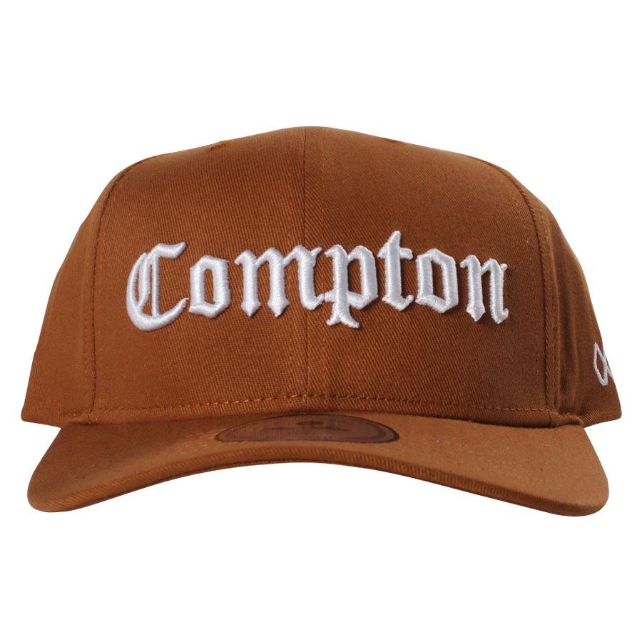 Boné Other Culture Aba Curva Compton Khaki - Rock City 36ea21fb830