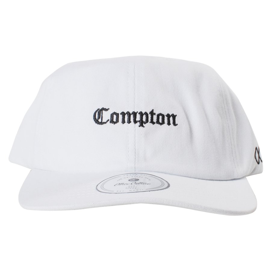 Boné Other Culture Aba Curva Compton Mini Branco - Rock City 77b1c03e23b