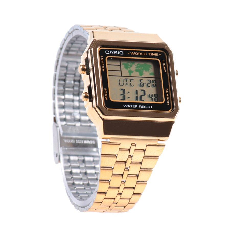 1d60ad41986 Relógio Casio Vintage A500Wga-1Df Dourado - Rock City