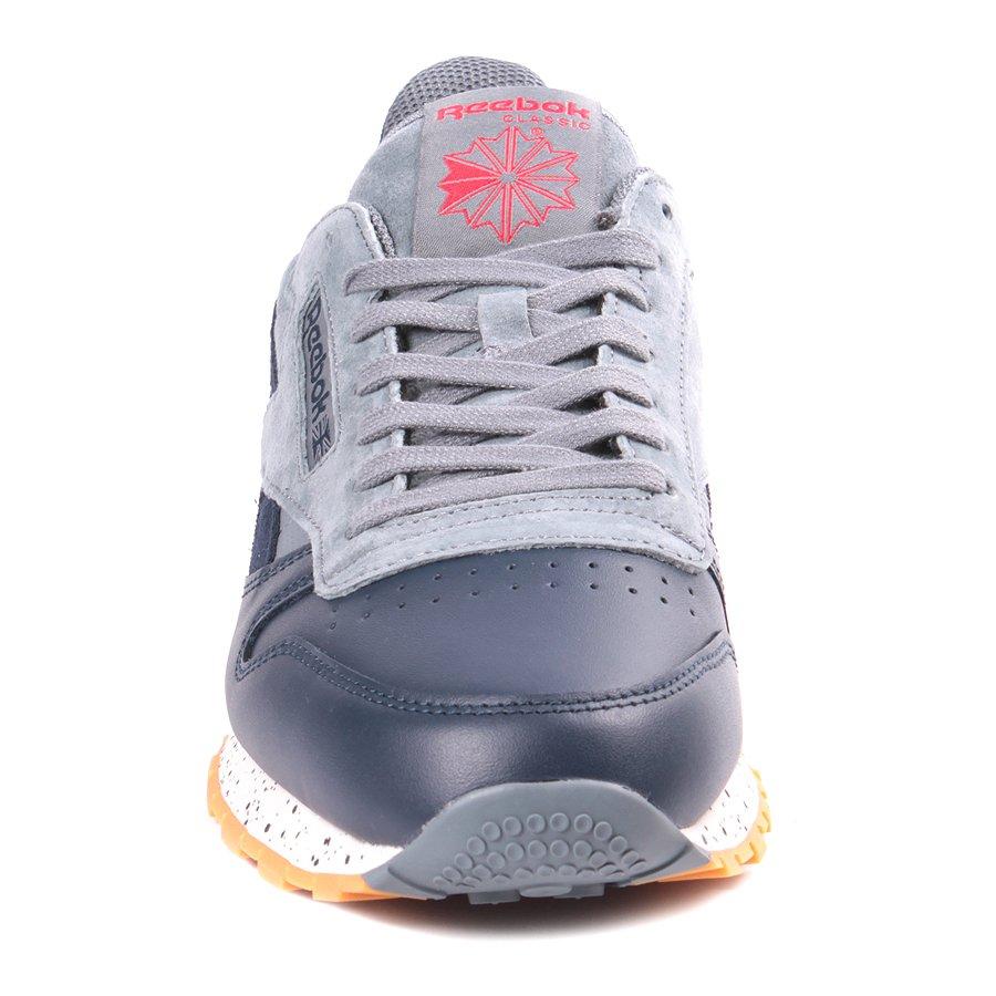a0e3324e7a0 Tênis Reebok Classic Leather Sm Azul Vermelho - Rock City