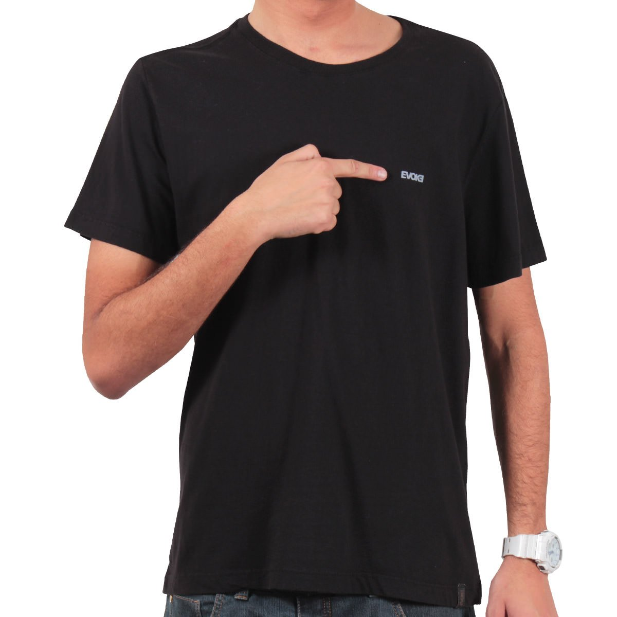 7bdbb1eef2523 Camiseta Evoke Skull Rose Preto - Rock City