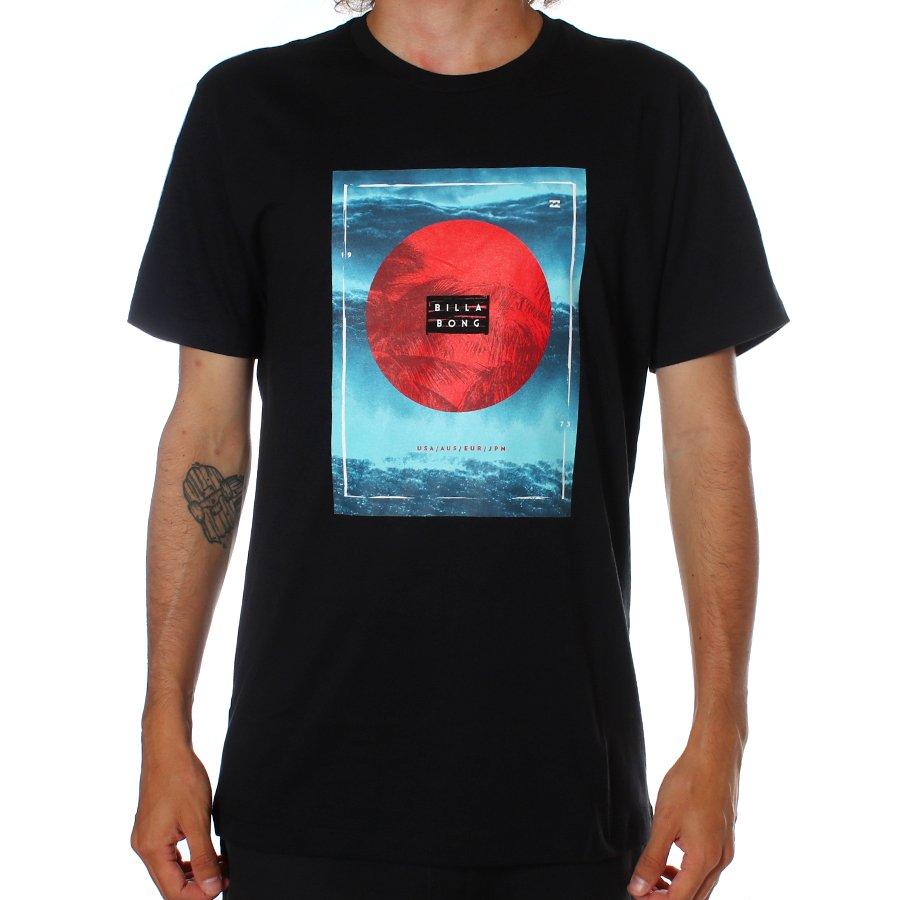 Camiseta Billabong Caravan Preto - Rock City a57980c91c6