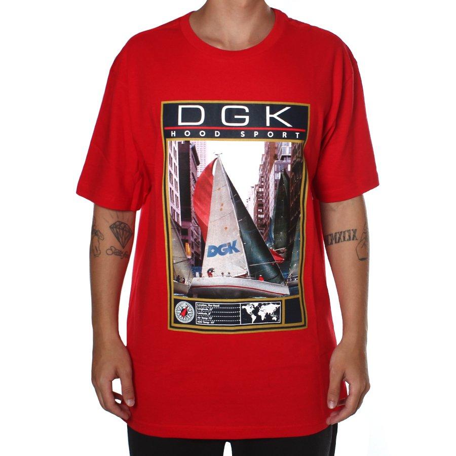 317a04e41a7d9 Camiseta DGK Compass Vermelho - Rock City