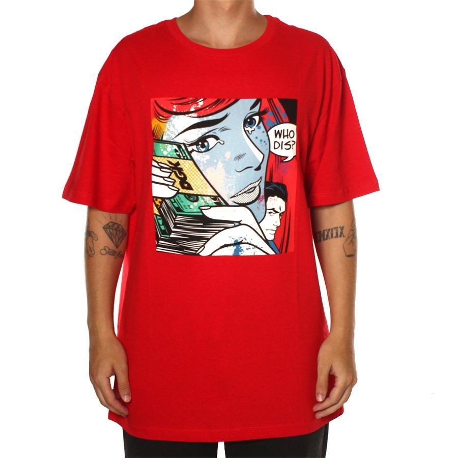 3926d3f5b834f Camiseta DGK Who Dis  Vermelho - Rock City