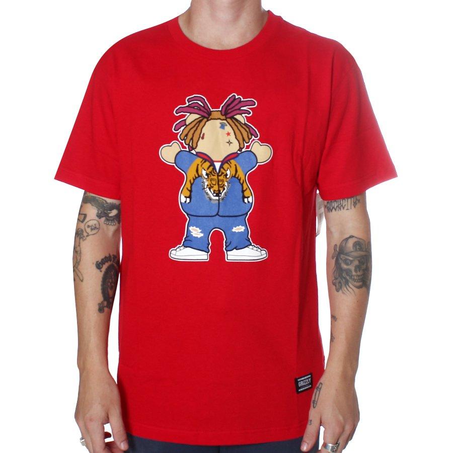 524193ac3 Camiseta Grizzly Lil Pump Vermelho - Rock City