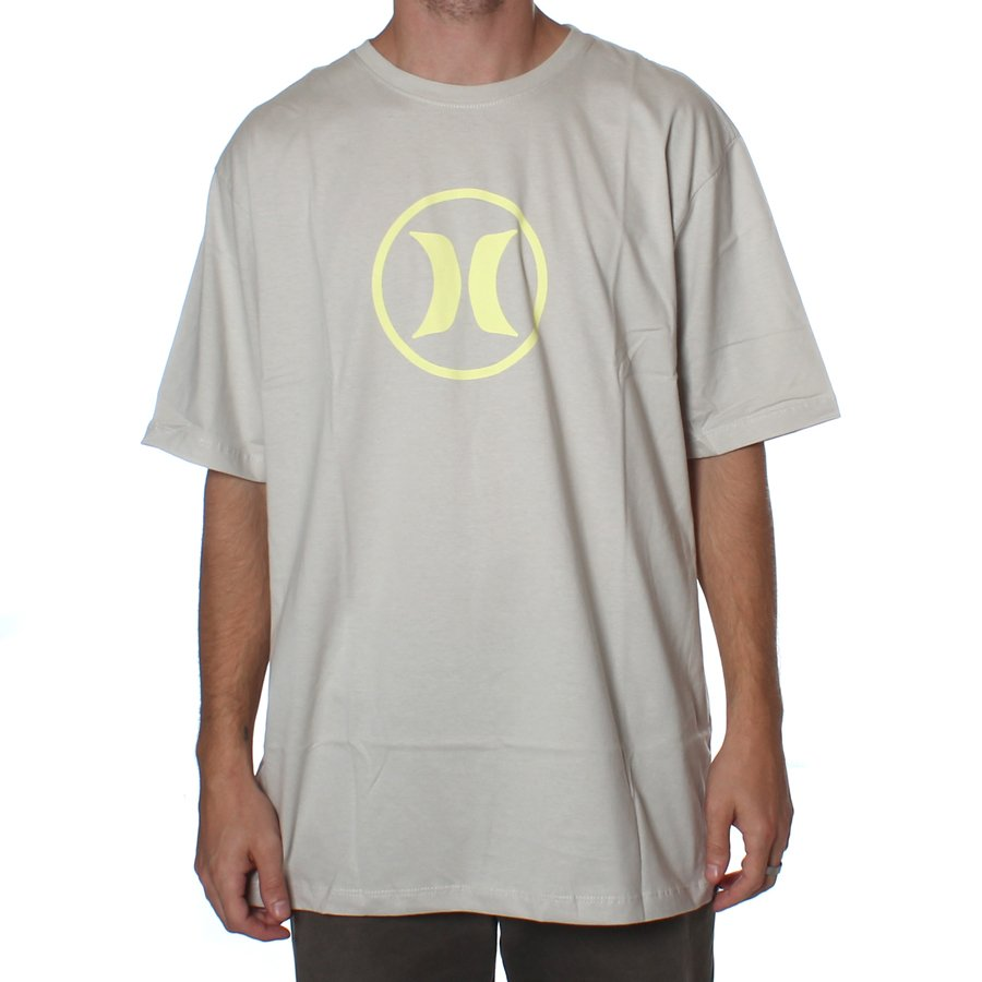 Camiseta Hurley Circle Icon Areia - Rock City 4de7d711f19