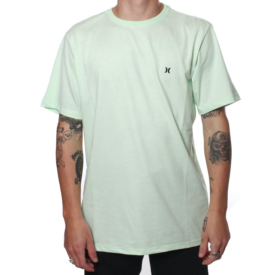 Camiseta Hurley Icon Verde - Rock City 87524af893e