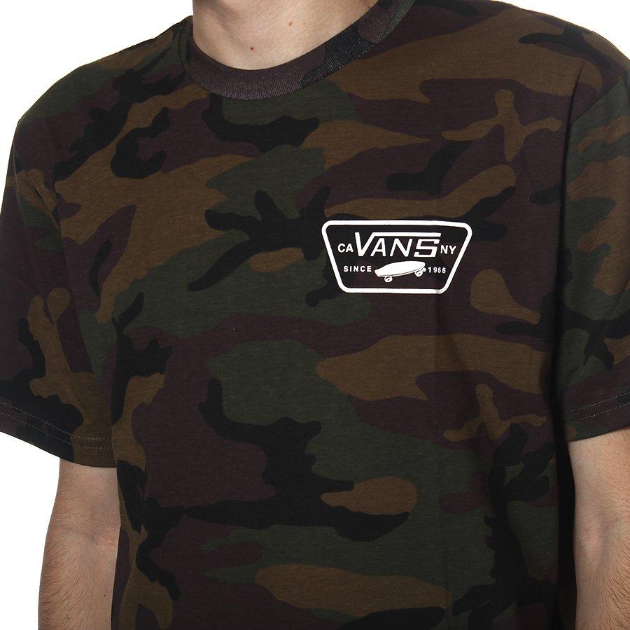 16887256dfa4a Camiseta Vans Full Patch Back Camuflado - Rock City