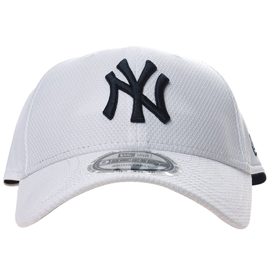 Boné New Era New York Yankees Branco - Rock City 845abe7b055