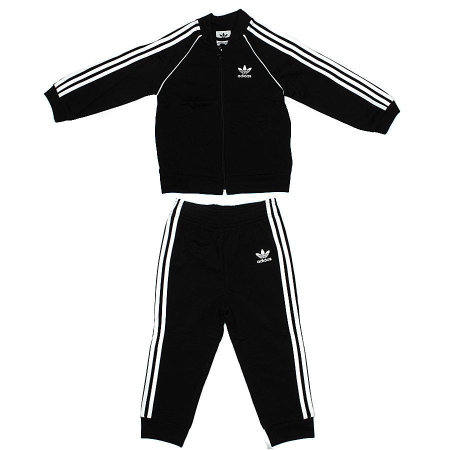 64dc3b6ca39 Conjunto Adidas Agasalho Infantil SST Preto - Rock City