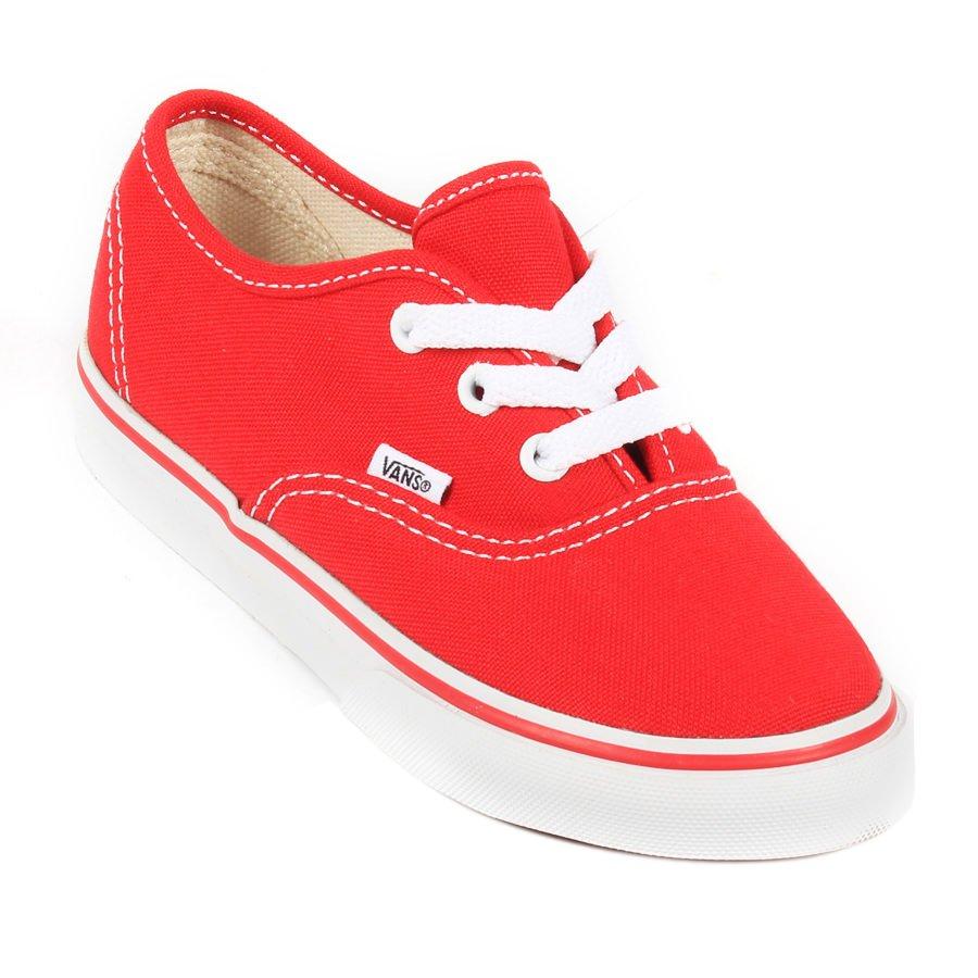 d7ee3ca5cb1 Tênis Vans Authentic Infantil Vermelho - Rock City